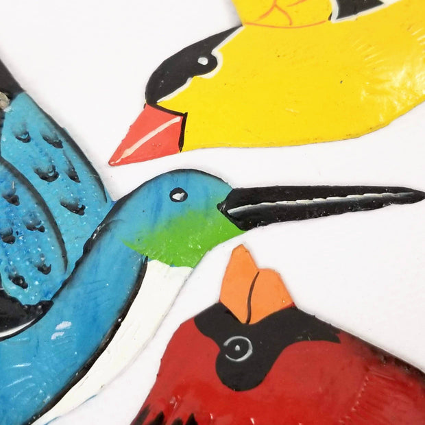 Summer Birds Ornaments