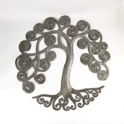 Curly Tree of Life Garden Art