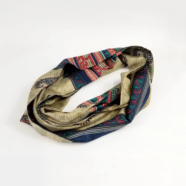 Beauty For Ashes - Sari Infinity Scarf - Accessories - Ethical Trading Company