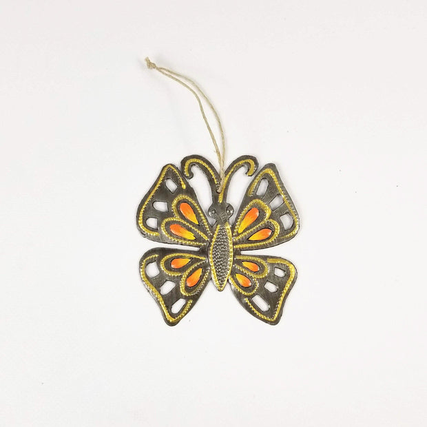 Singing Rooster - Butterfly Ornaments - Ornament - Ethical Trading Company