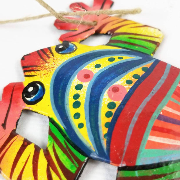 Painted Wildlife Ornament