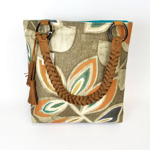 Vi Bella - Autumn Leaves Tote - Tote - Ethical Trading Company