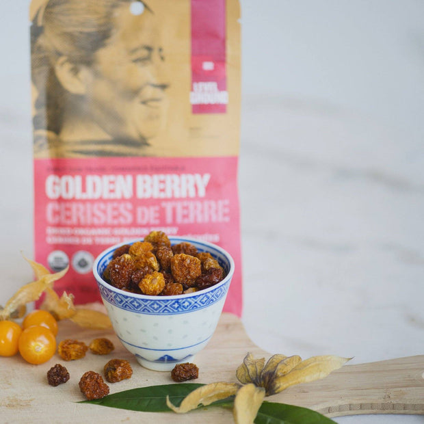 Level Ground Trading - Organic Golden Berry Dried Fruit - Fruit - Ethical Trading Company