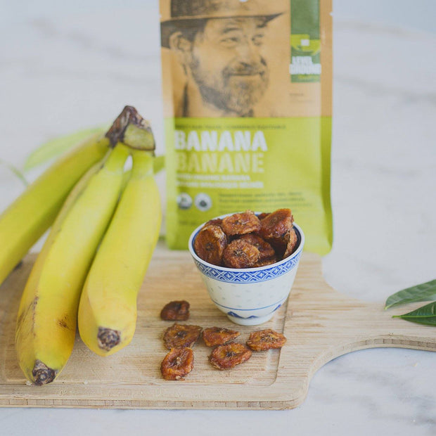 Level Ground Trading - Dried Banana - Fruit - Ethical Trading Company