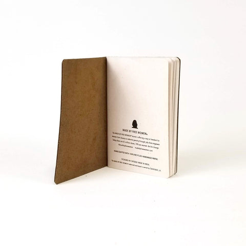 CauseGear - Buffalo Leather Journal - Journal - Ethical Trading Company