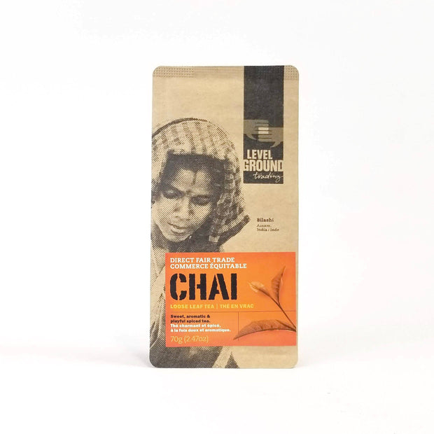 Level Ground Trading - Fair Trade Chai Tea - Tea - Ethical Trading Company