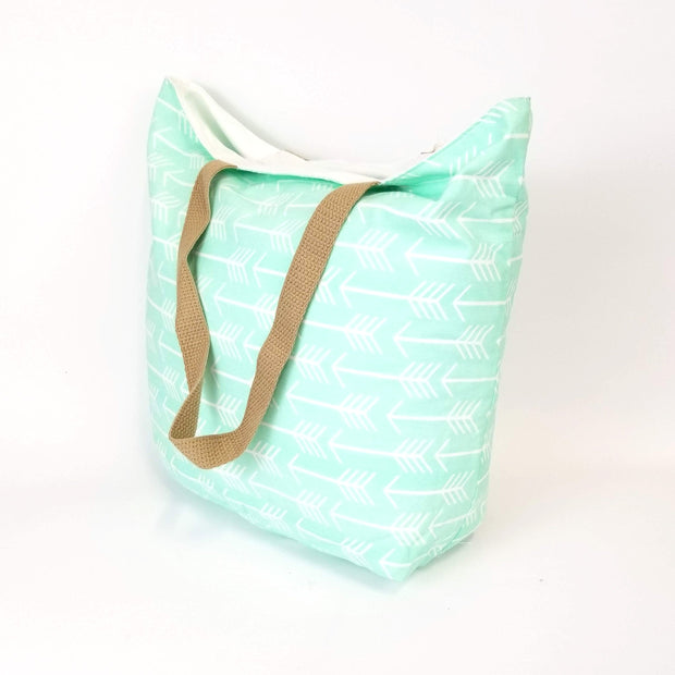 Vi Bella - Mint Arrow Market Bag - Tote - Ethical Trading Company