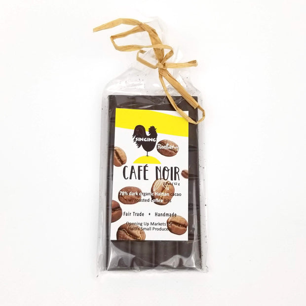 Singing Rooster - Cafe Noir Chocolate - Food - Ethical Trading Company