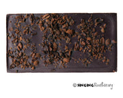 Singing Rooster - Dark Sea Salt Crunch Chocolate - Food - Ethical Trading Company