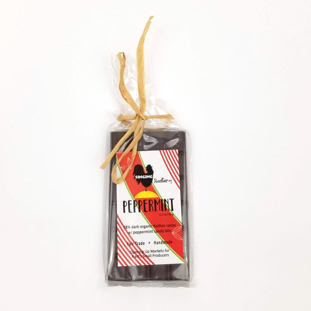Singing Rooster - Peppermint Chocolate - Food - Ethical Trading Company