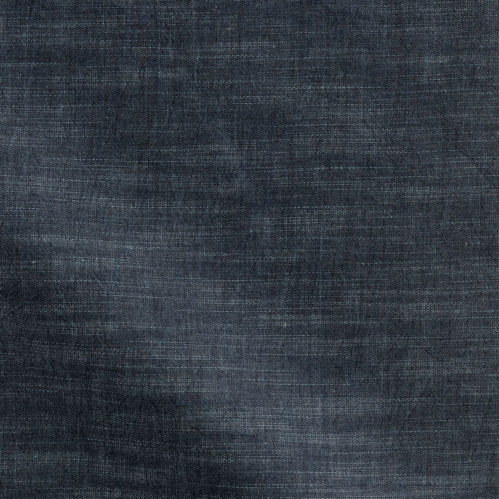 black chambray Fabric Swatch