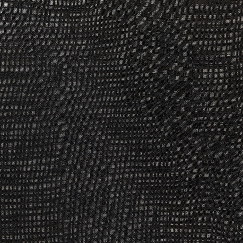 black linen Fabric Swatch