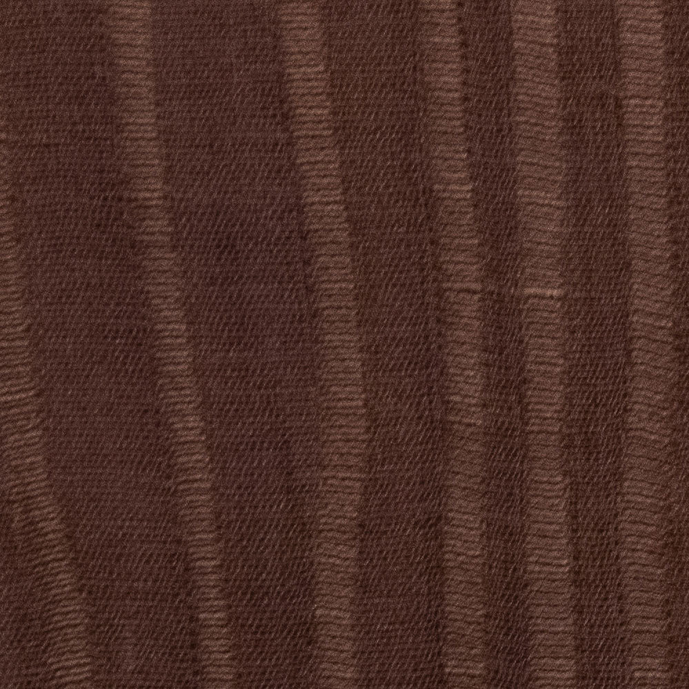Cocoa Linen silk Fabric Swatch