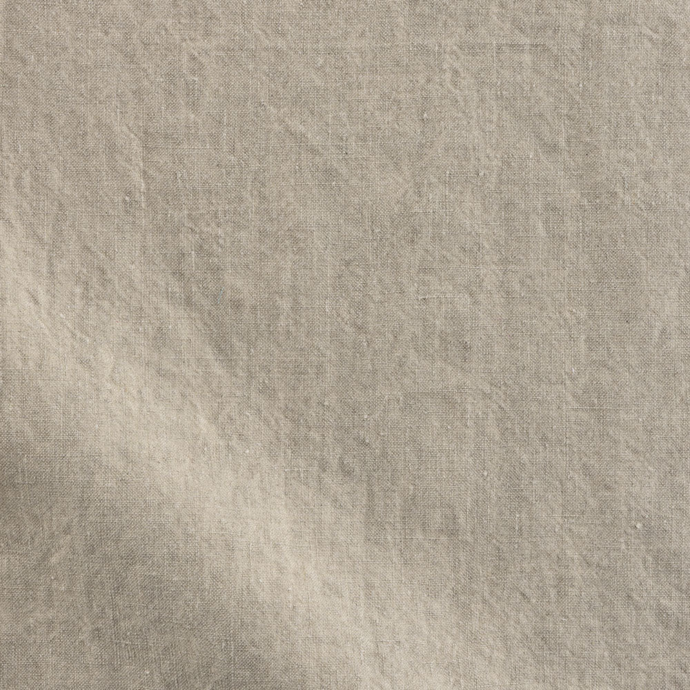 flax stonewashed linen Fabric Swatch