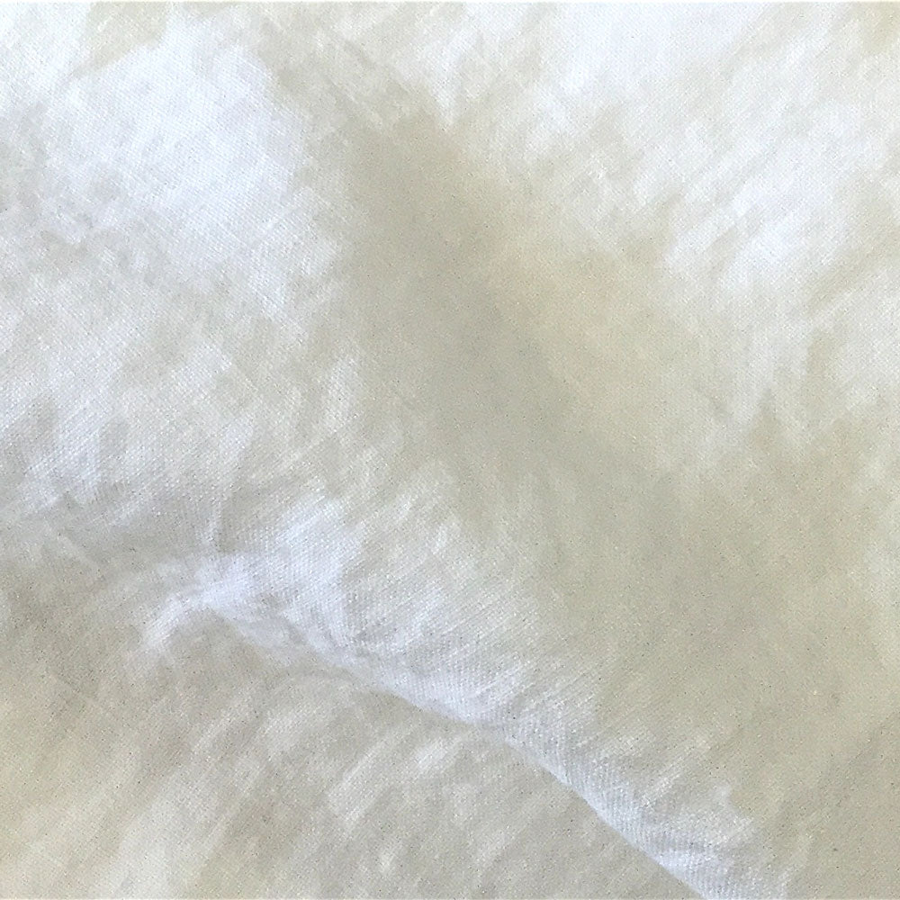 oyster stonewashed linen Fabric Swatch