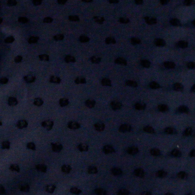 sheer black swiss dot Fabric Swatch