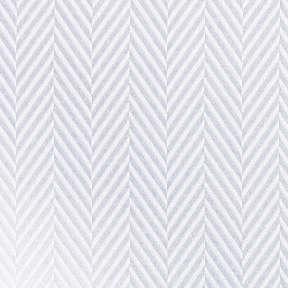 white cotton herringbone Fabric Swatch
