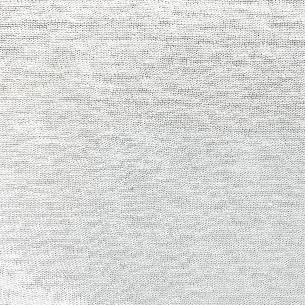 white linen rayon knit Fabric Swatch