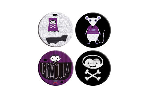 Dracula Button Pack