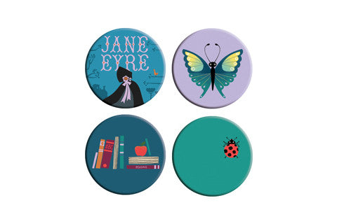Jane Eyre Button Pack