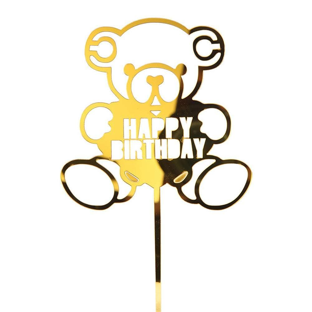 Happy Birthday Luxury Cake Topper - MARLENKA UK