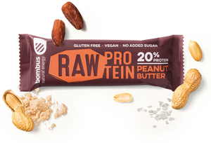 Raw Protein Peanut Butter Bar - MARLENKA UK