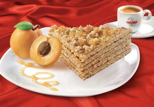 Apricot Honey Cake - MARLENKA UK