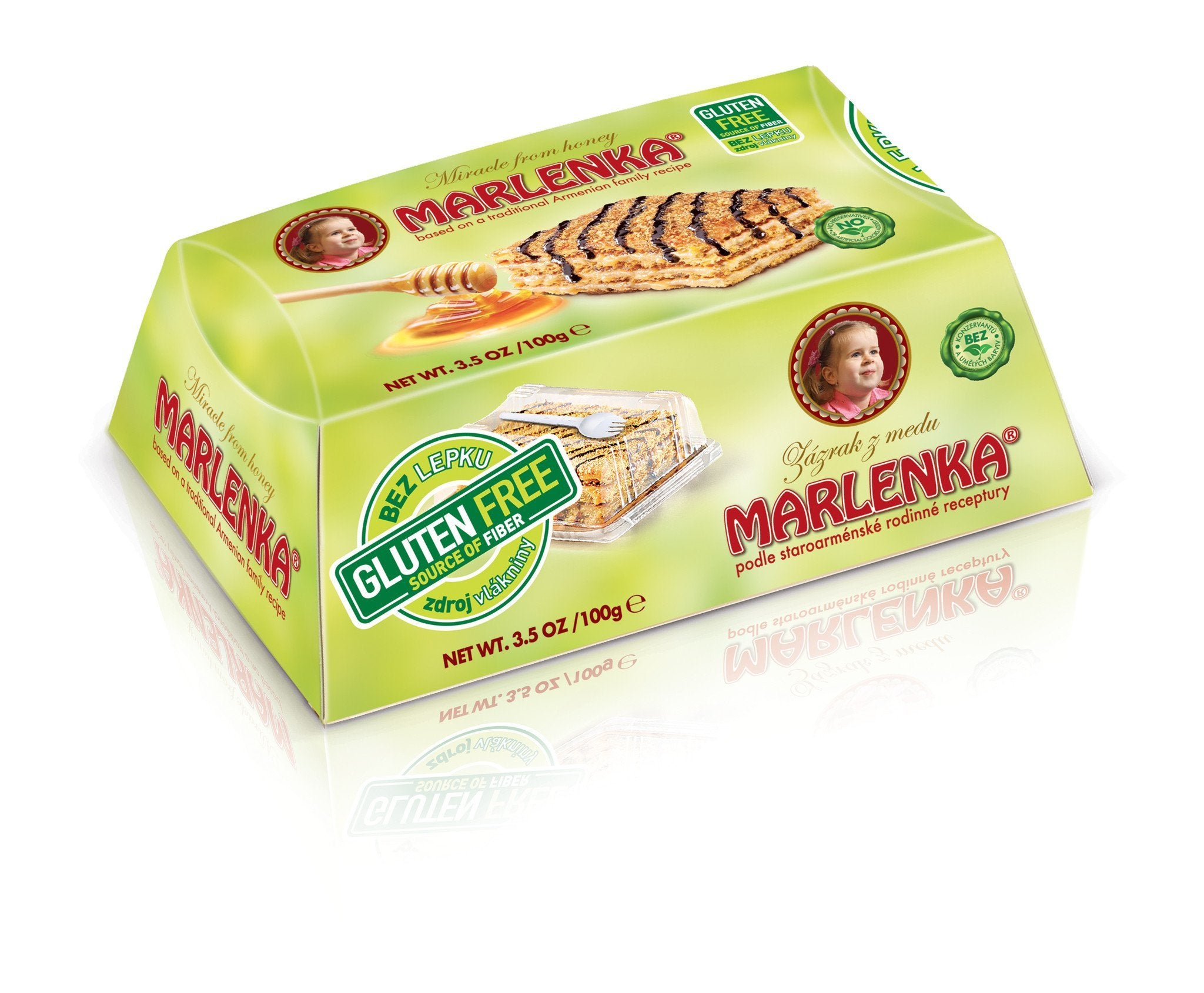 Gluten-Free Baby Cake with walnuts - MARLENKA UK