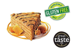 MARLENKA® Cake 800g Gluten-Free Honey Cake with walnuts