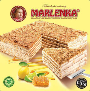 MARLENKA® Cake 800g Lemon Honey Cake