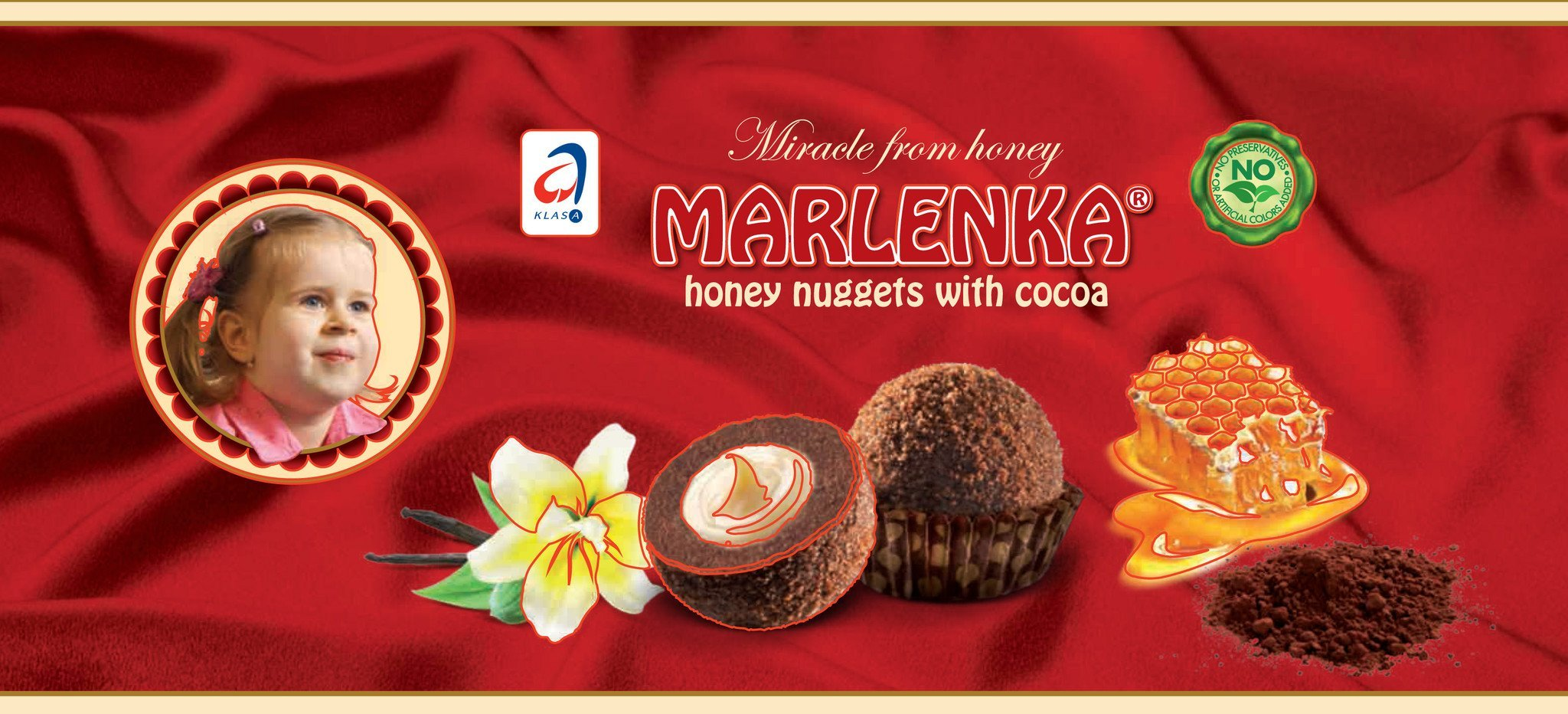 Cocoa Honey Nuggets - MARLENKA UK