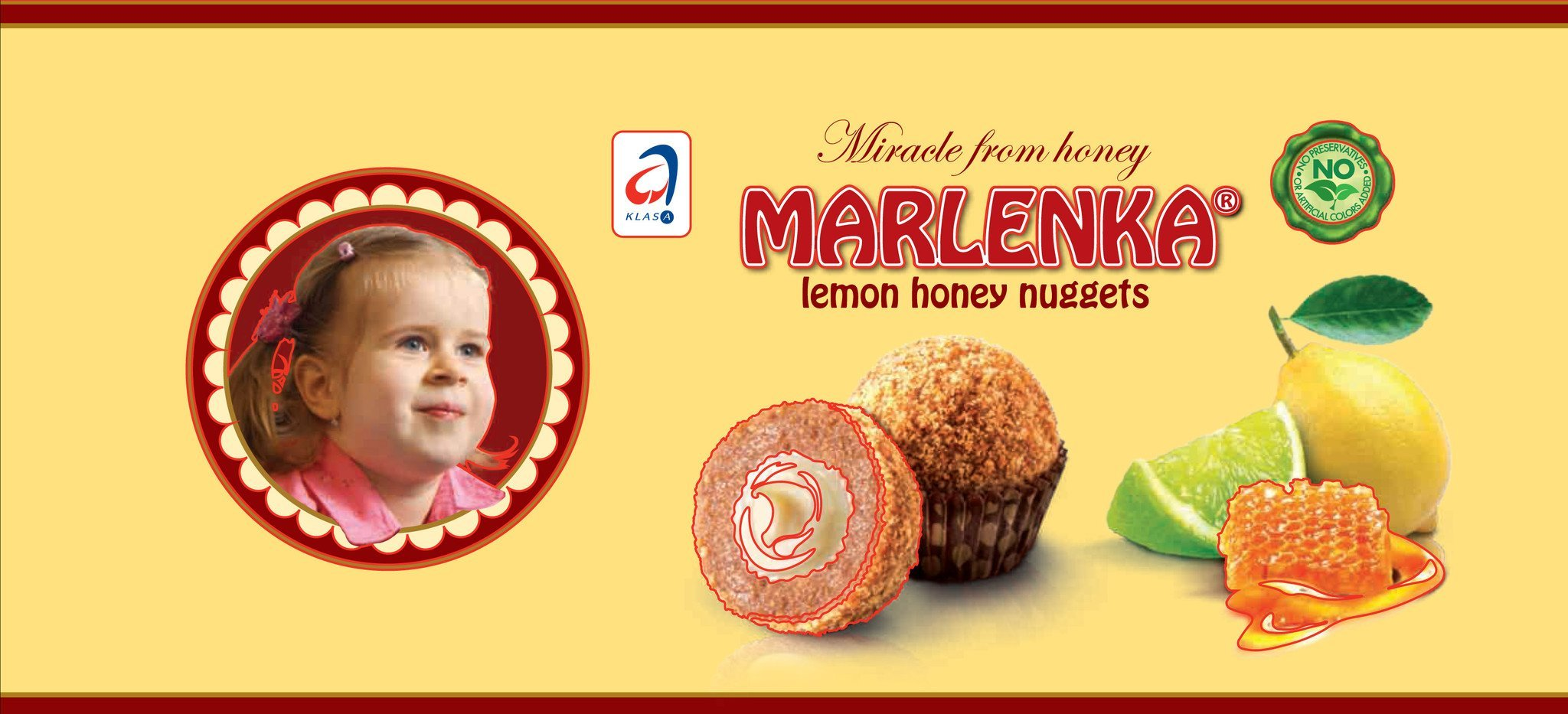 Lemon Honey Nuggets - MARLENKA UK