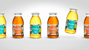 Walden® Organic Iced Tea Peach & Jasmine Organic Iced Tea Peach & Jasmine Organic Iced Tea