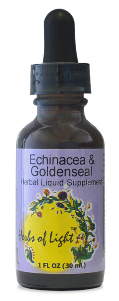 Echinacea and goldenseal drops