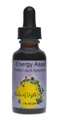 Energy Assist Herbal Blend, 1 ounce