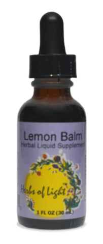 Lemon Balm Herbal Extract, 1 ounce