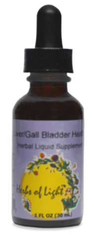 Liver Gall Bladder Health Herbal Blend, 1 ounce