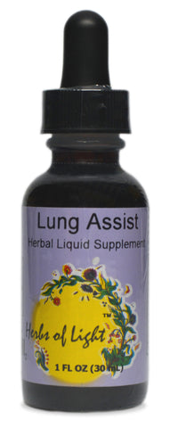 Lung Assist Herbal Blend, 1 ounce