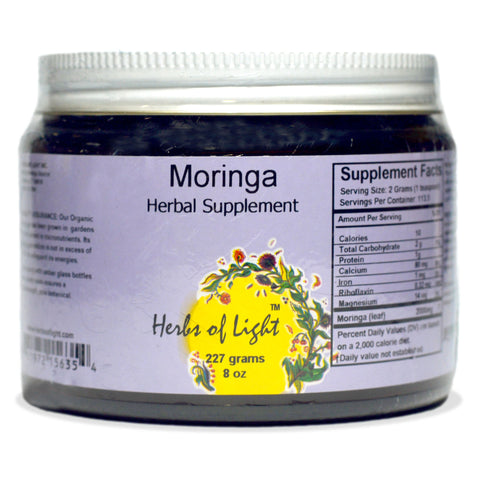 Moringa Powder, 8 ounce