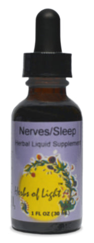 Nerves/Sleep Herbal Blend, 1 ounce