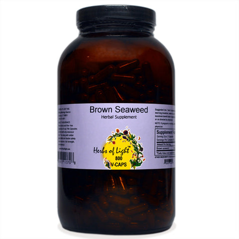 Brown Seaweed Capsules, 800 count
