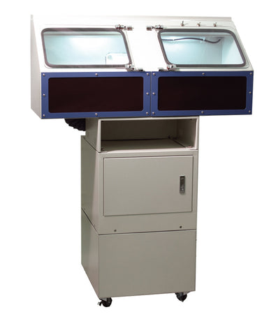 12-001 - Double Spindle Total Enclosure - Polishing Unit