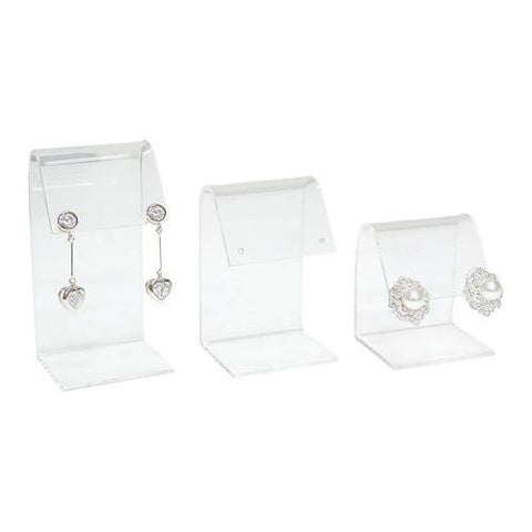 Acrylic Earring Display Set - 12 Pieces