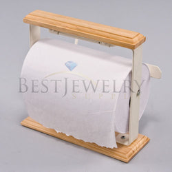 "Anti Tarnish Tissue Paper Roll Paper Cutter Stand Jewelry 7 3/8"" Wide Gift Wrap"