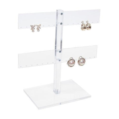 Acrylic Earring Display Stand - 1609 - 12 Pieces