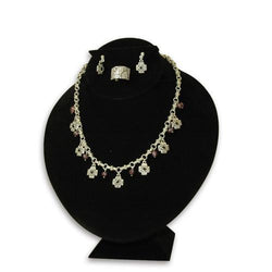 Combination Necklace, Ring, and Earring Bust Display - 171-3T