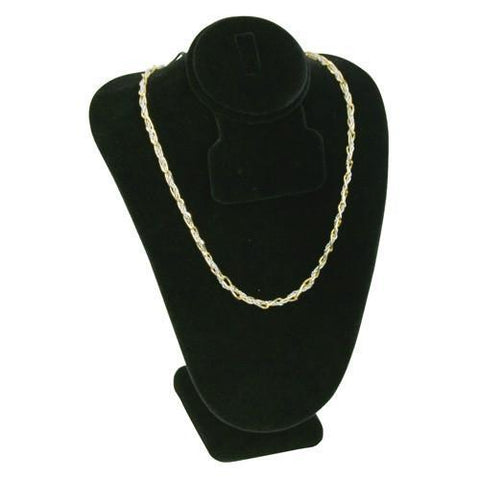Combination Necklace, Ring, and Earring Bust Display - 189-3B