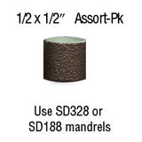 "Foredom 1/2"" x 1/2"" Aluminum Oxide BANDS 12-Pc Assortment Pack"