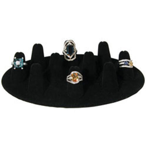 Finger Shaped Ring Display - 245A-10