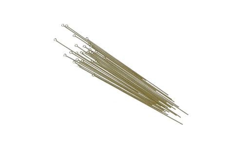 Beading Needles, Brass, Small
